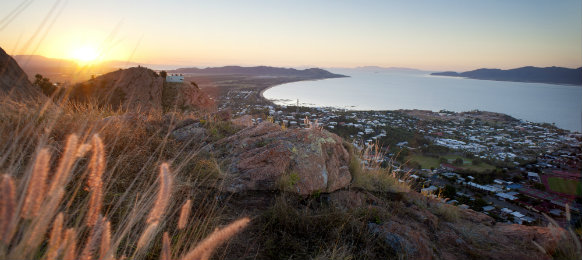Sunset view of Townsville