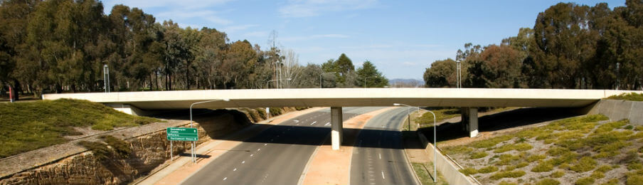 motorway bridge in australian capital territory