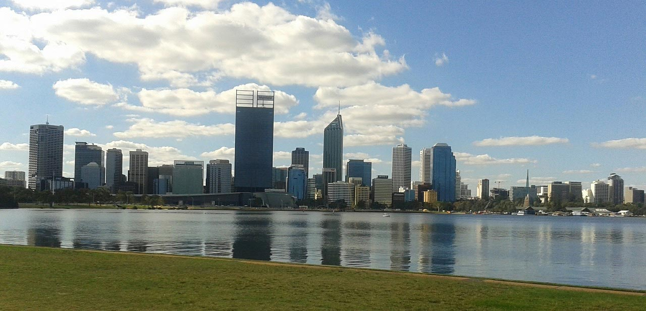 A view of Perth City