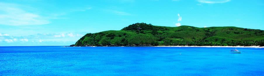 The Blue Lagoon in Fiji
