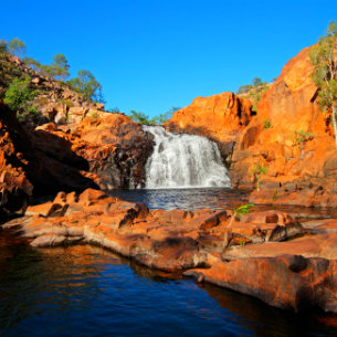 Waterfall at Kakadu National Park
